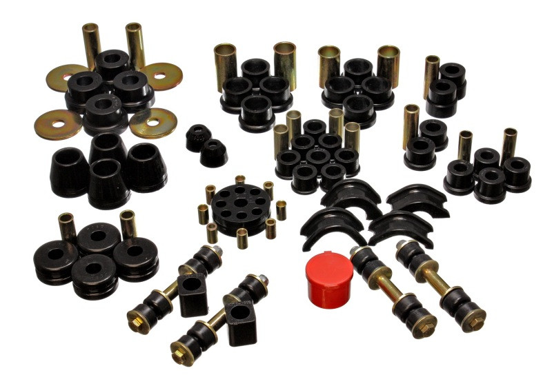Energy Suspension Complete Suspension Bushing Kit (Black) | 74-75 Nissan 260Z