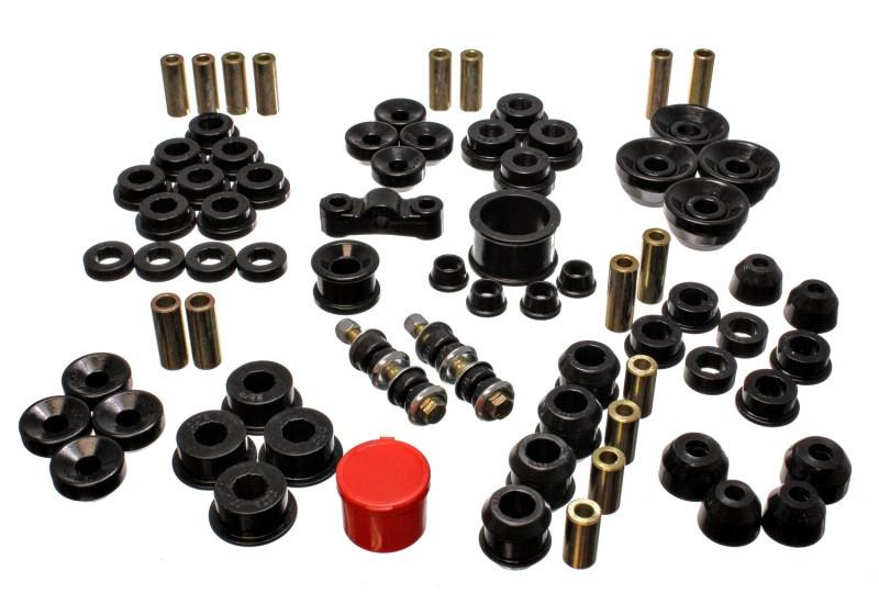 Energy Suspension Complete Suspension Bushing Kit (Black)   90-93 Acura Integra