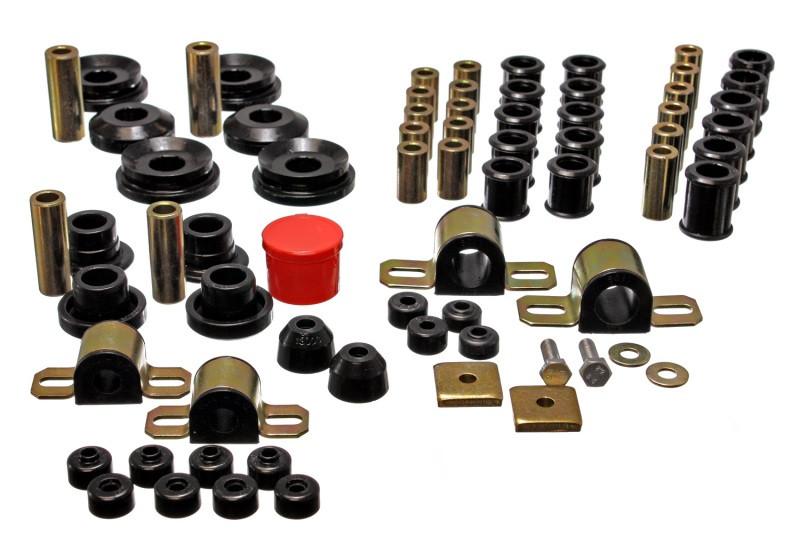 Energy Suspension Complete Suspension Bushing Kit (Black)   95-98 Nissan 240SX