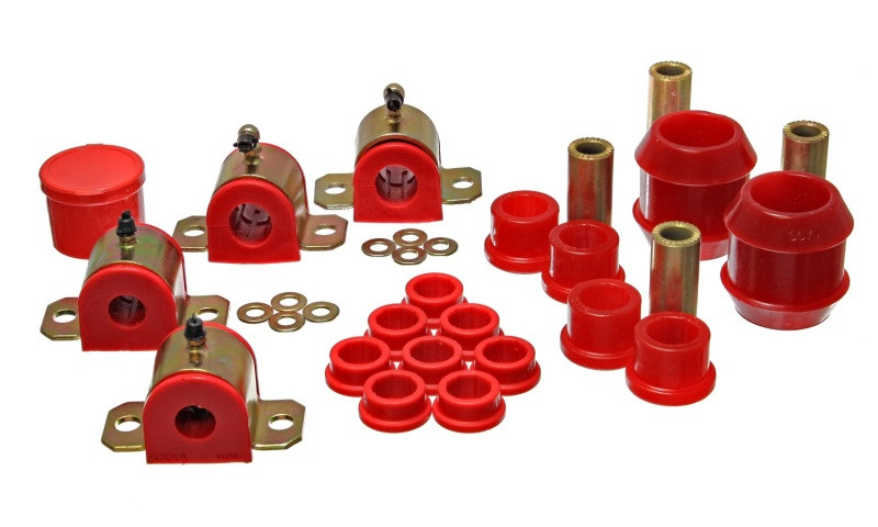 Energy Suspension Complete Suspension Bushing Kit (Red)   00-05 Toyota Celica