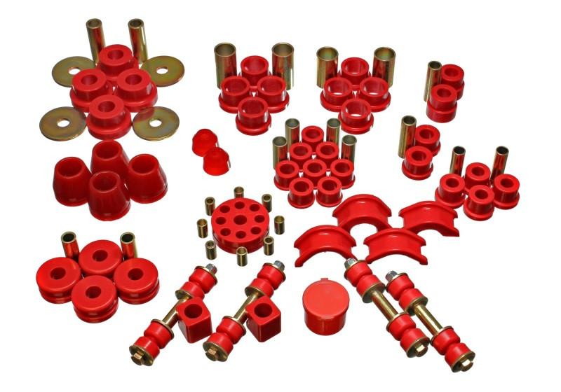 Energy Suspension Complete Suspension Bushing Kit (Red)   74-75 Nissan 260Z