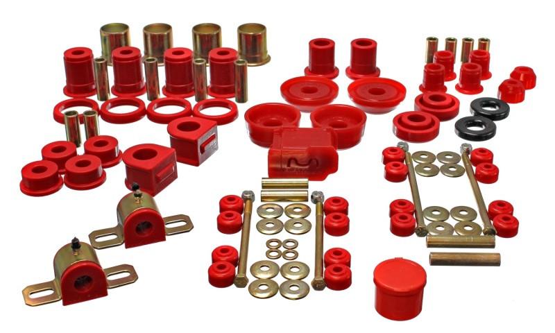 Energy Suspension Complete Suspension Bushing Kit (Red) | 93-02 Chevrolet Camaro/93-02 Pontiac Firebird/93-02 Pontiac Trans Am