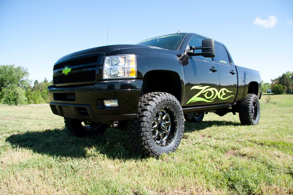 """Zone 5"""" Suspension System Chevy/GMC 2500HD 4WD/2WD 2011-2017"""