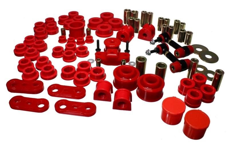 Energy Suspension Hyper-Flex Master Bushing Set (Red) | 08-12 Subaru Impreza WRX