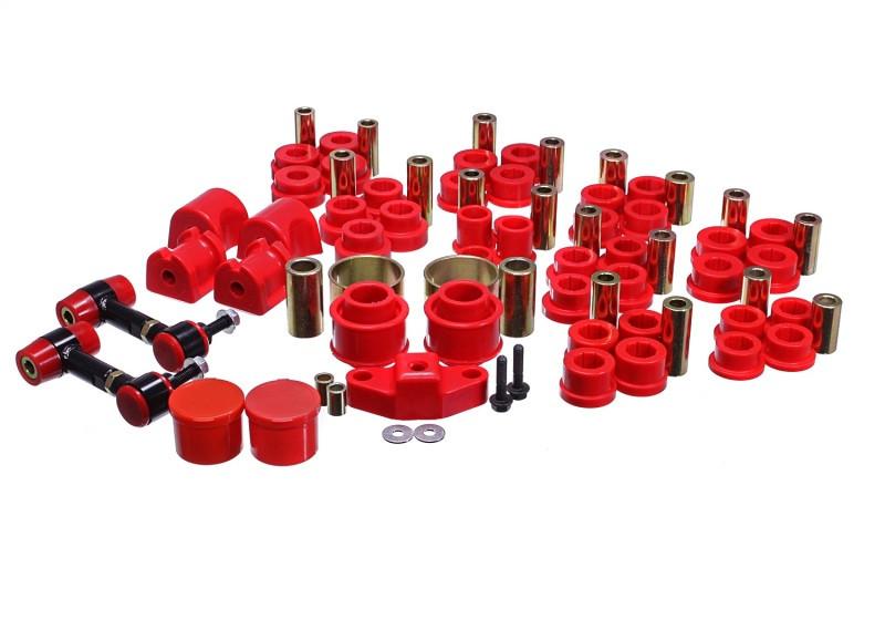 Energy Suspension Hyper-Flex Master Bushing Set (Red) | 2013+ Scion FR-S/Subaru BRZ
