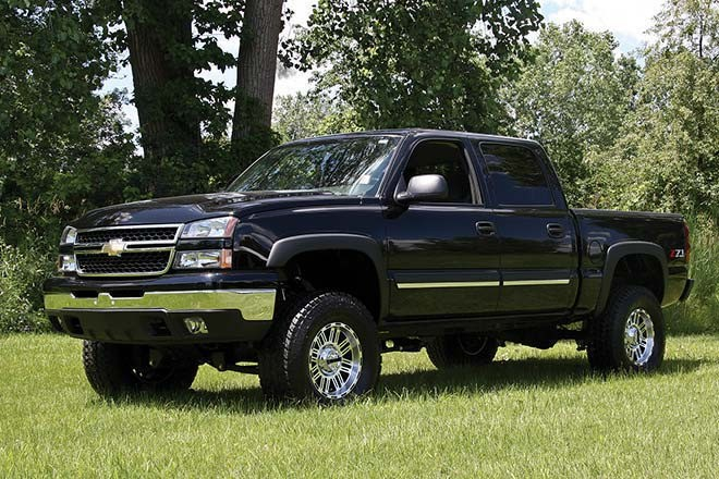 """Zone 6"""" Suspension System Chevy/GMC 1500 4WD 99-2006"""