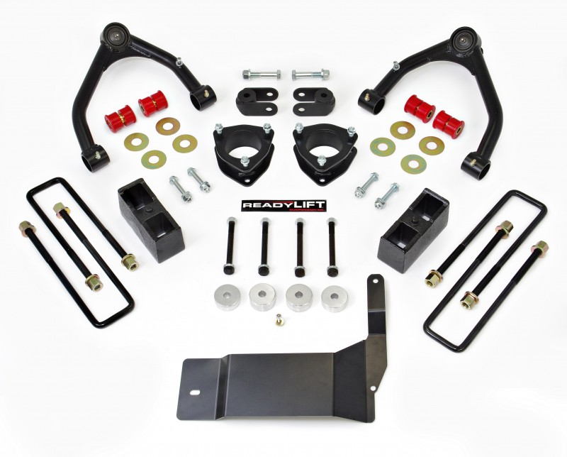 "ReadyLift 4"" SST Lift Kit with Upper Control Arms for Aluminum or Stamped Steel OE Upper Control Arms without Shocks - Chevrolet/GMC 1500 2014-2018"