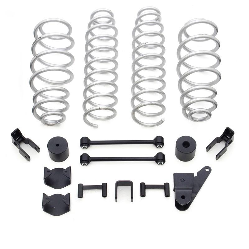 "ReadyLift 2.5"" Coil Spring Lift Kit without Shocks - Jeep JK Wrangler 2007-2018"