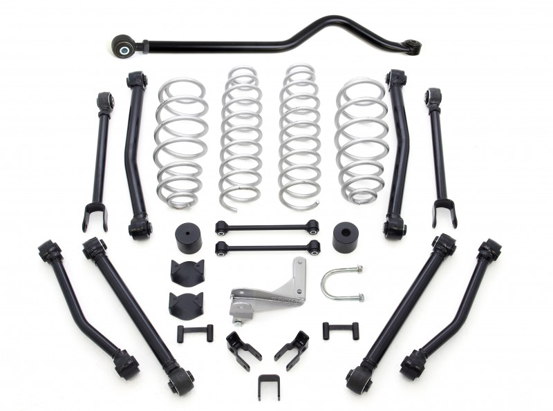 "ReadyLift 2.5"" Terrain Flex 8-Arm Lift Kit without Shocks - Jeep JK Wrangler 2007-2018"