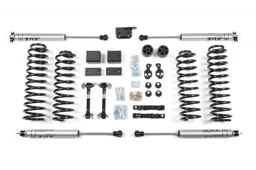 "BDS Suspension 3"" Suspension Lift Kit - 07-11 Jeep Wrangler JK 2dr"
