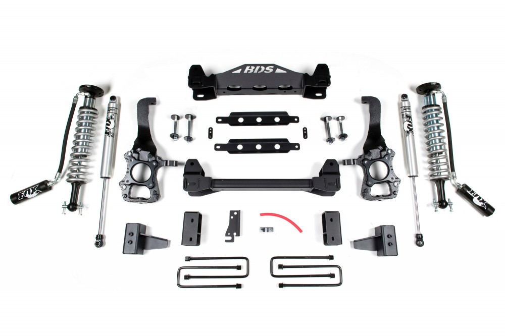 bds suspension 4 coil over suspension system ford f 150 4wd