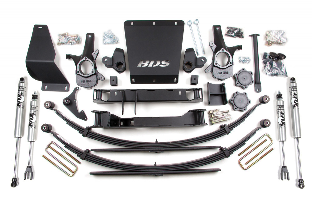 "BDS Suspension 6-1/2"" Suspension Lift Kit - Chevy/GMC 1500 4WD"