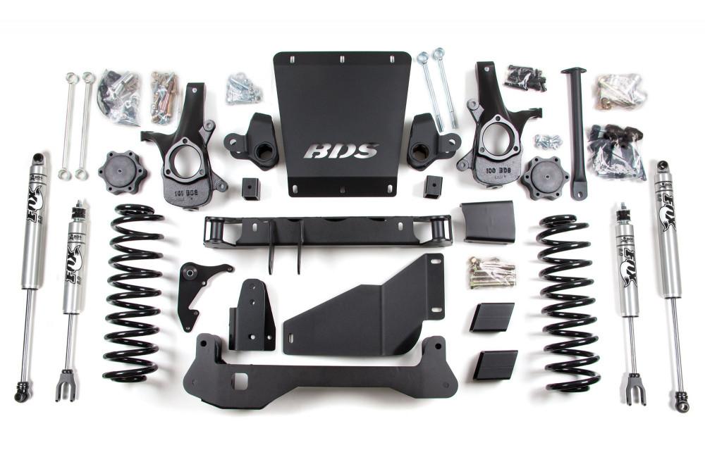"BDS Suspension 6-1/2"" Suspension Lift Kit - Chevy/GMC SUV 4WD (00-06)"