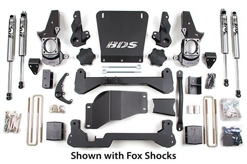 "BDS Suspension 7"" Suspension Lift Kit - Chevy/GMC - 4WD"