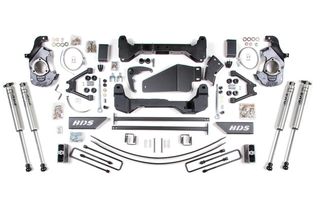 "BDS Suspension 6"" Suspension Lift Kit - Chevy/GMC 6-Lug 4WD Pickup"