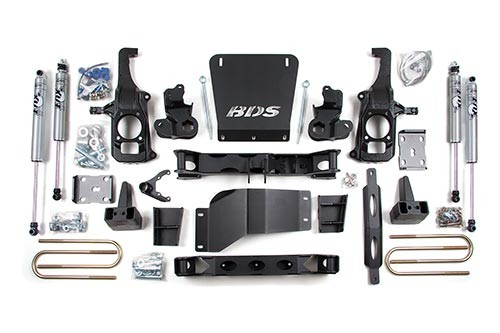 "6.5"" Lift Kit For 2011-17 2500 & 3500 HD Silverado/Sierra BDS Suspension Chevrolet/GMC"
