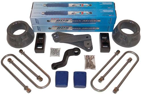 """BDS Suspension 3"""" Coil Spacer Lift Kit - Dodge 3/4 & 1 Ton, 1/2 Ton MegaCab"""