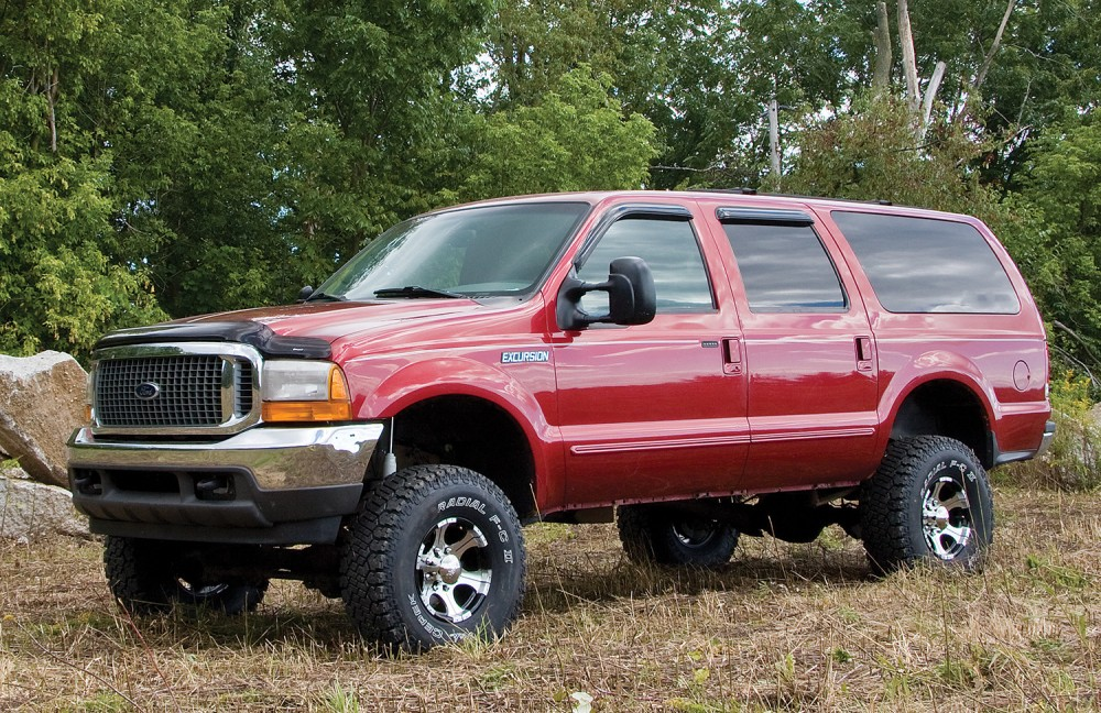 Bds Suspension  Suspension Lift Kit Ford Excursion