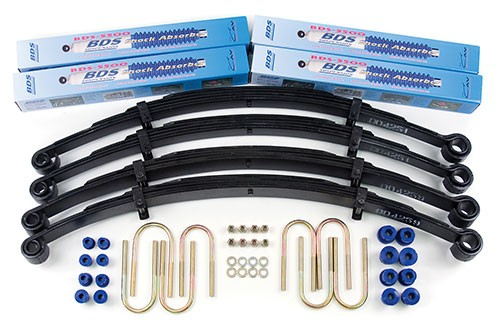 "BDS Suspension 2-1/2"" Lift Kit - Jeep Cj5, Cj7, Scrambler"