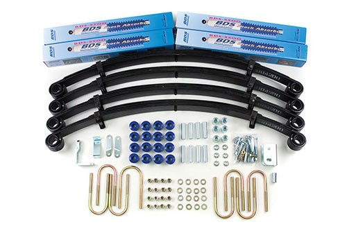 "BDS Suspension 2"" Lift Kit - Jeep Wrangler Yj"