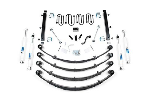 "BDS Suspension 3-1/2"" Suspension Lift Kit - Jeep Wrangler Yj"