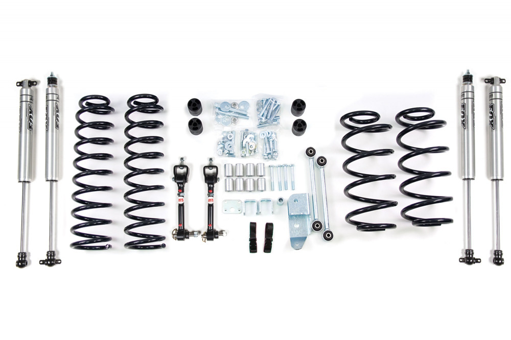 "BDS Suspension 3"" Suspension Lift Kit - 03-06 Jeep Wrangler Tj"