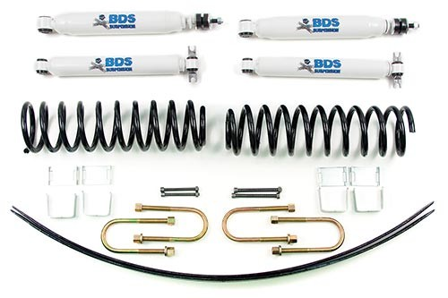 "BDS Suspension 2"" Suspension Lift Kit - Jeep Cherokee Xj"
