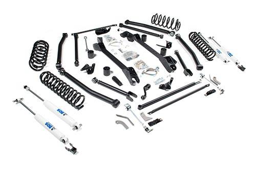 bds suspension 6 1 2 long arm lift kit jeep wrangler tj