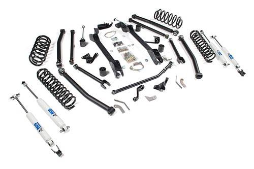 bds suspension 4 1 2 long arm lift kit jeep wrangler tj