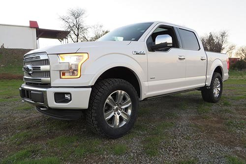F  Bds Suspension   Leveling Kit Ford