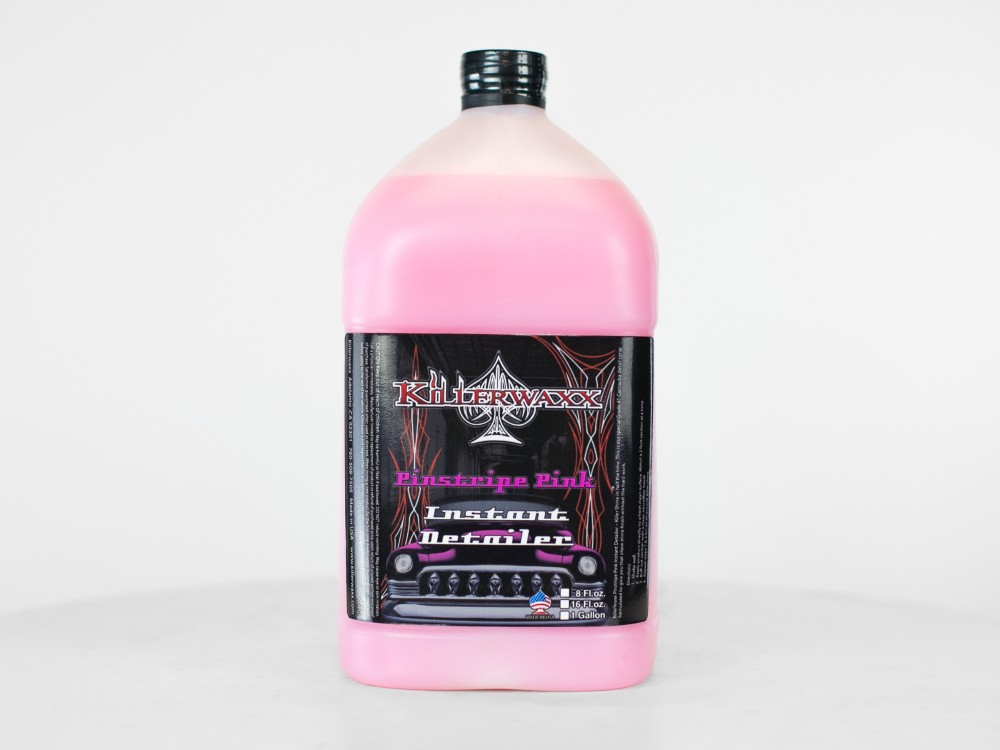 Pinstripe Pink Instant Detailer - Gallon Bottle