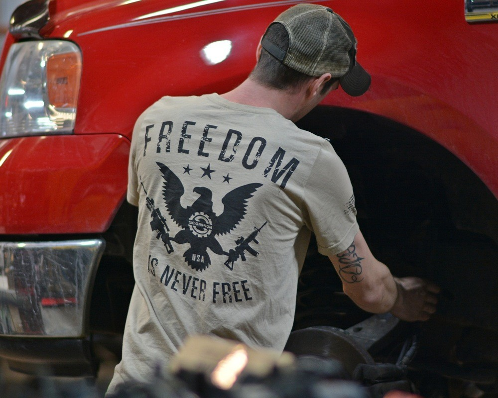Scorpion Offroad and Custom Offsets Freedom Shirt