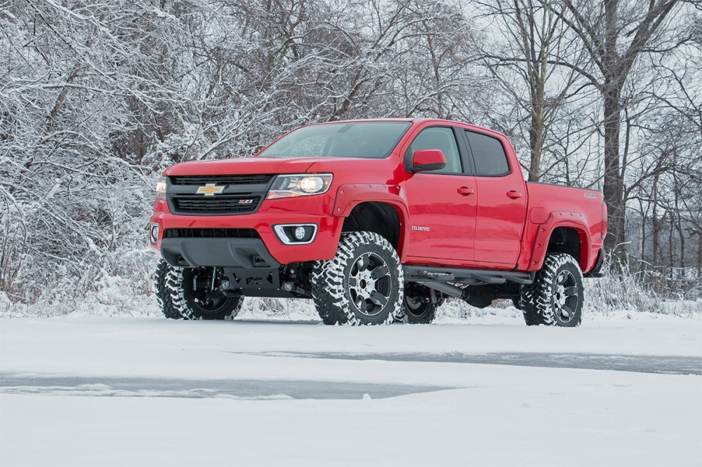 Lifted Chevy Colorado >> Rough Country 6 Gm Suspension Lift Kit 15 19 Canyon Colorado 4wd