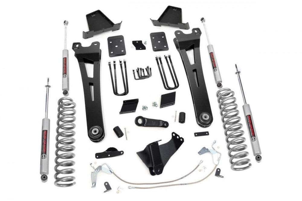 "Rough Country 6"" Radius Arm Suspension Lift Kit - (15-16 F-250 4WD 