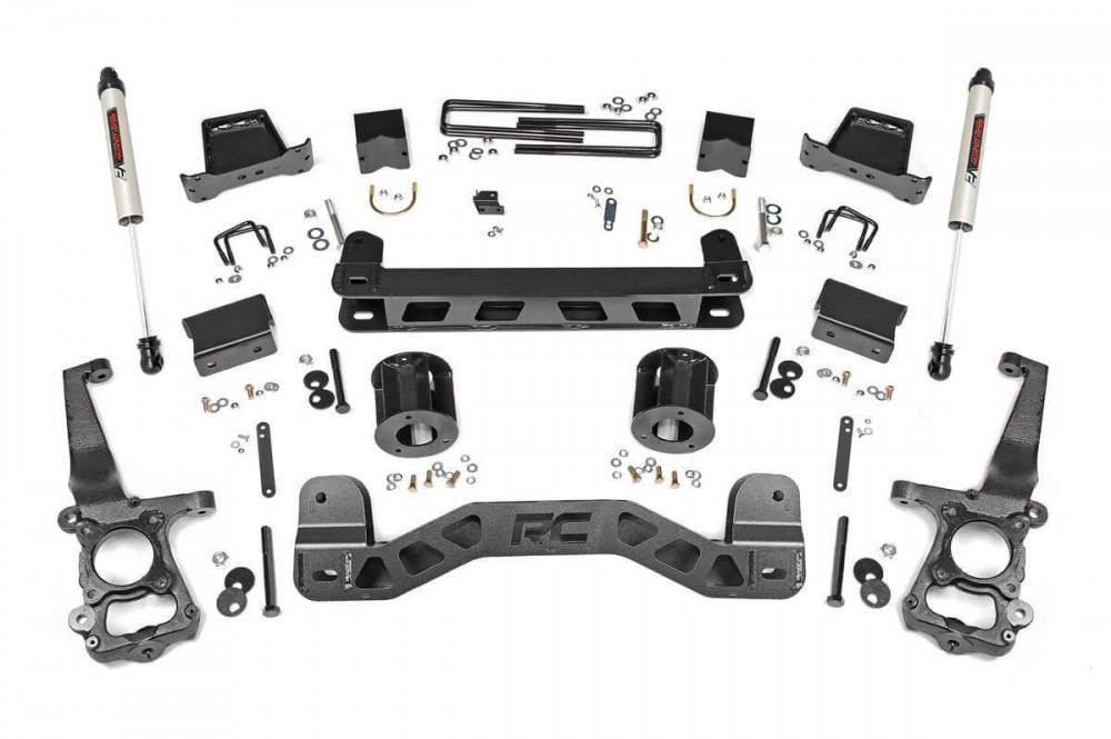 "Rough Country 6"" Ford Suspension Lift Kit 2WD"