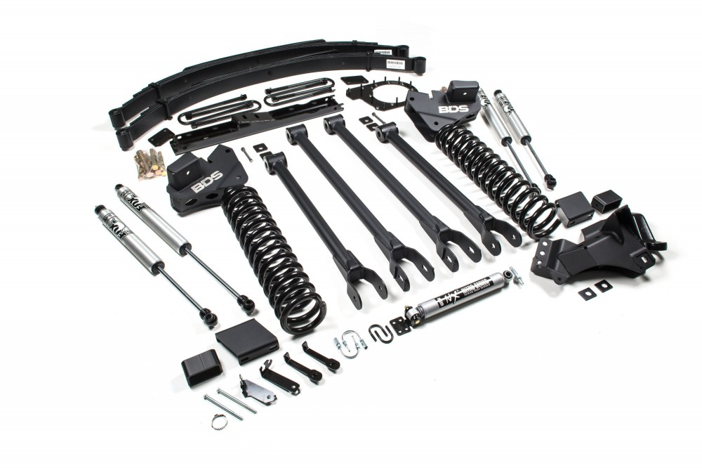 6 4 link arm suspension system ford f250 f350 4wd