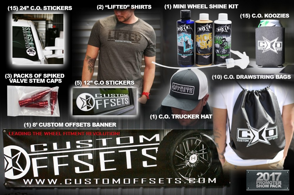 Custom Offsets 2017 Show Promoter Pack