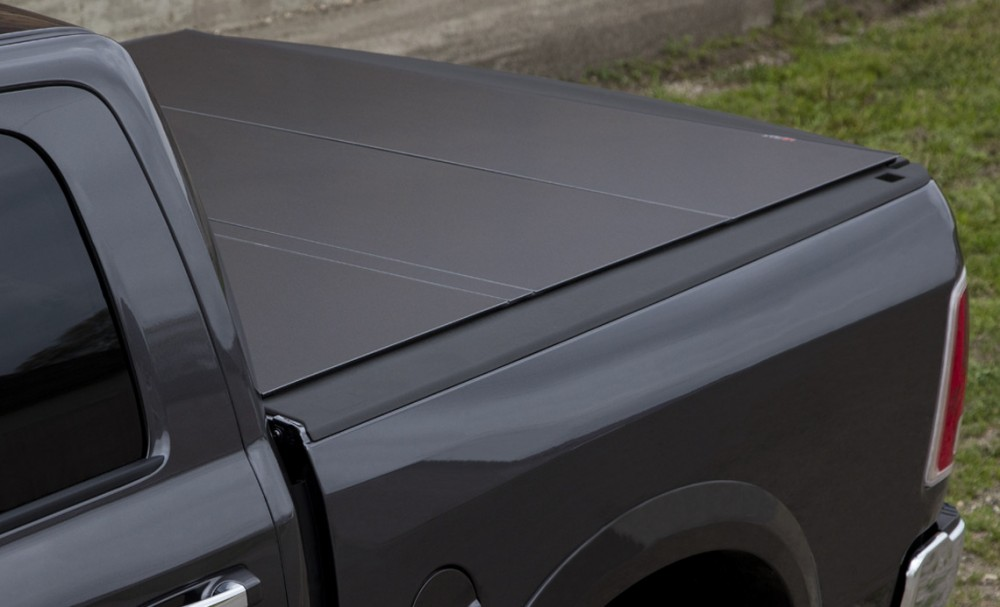 Lomax B1040019 Hard Tri Fold Tonneau Cover Dodge Ram 1500 5 7 Short Bed 2009 2018 Custom Offsets