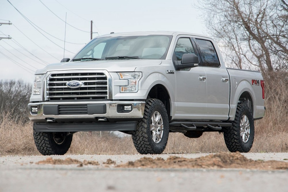 F150 4 Inch Lift >> Rough Country 3in Ford Bolt On Arm Lift Kit 14 19 F 150 4wd