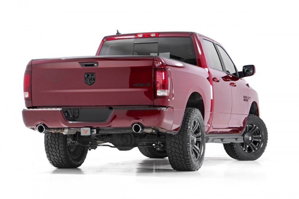 4 Inch Lift Kit For Dodge Ram 1500 4wd >> Rough Country 3in Dodge Bolt On Lift Kit 12 17 Ram 1500 4wd