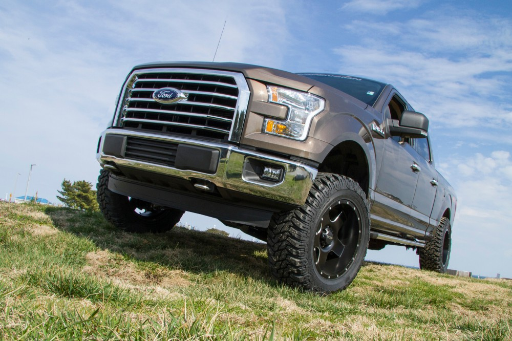2016 F150 Lifted >> 4 Coil Over Suspension System Ford F1