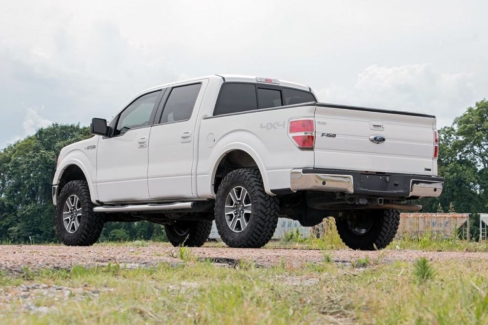 3 Inch Lift Kit >> Rough Country 3 Ford Bolt On Lift Kit 09 13 F 150 4wd 54431 Custom