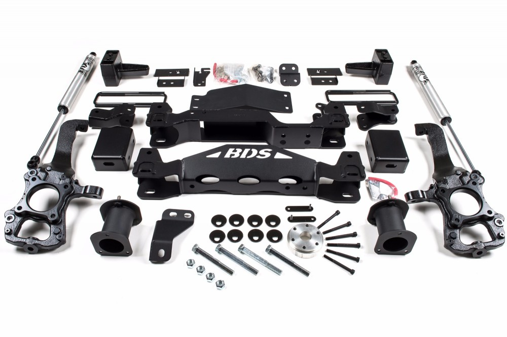"""BDS Suspension 6"""" Suspension System Ford F-150 4WD"""