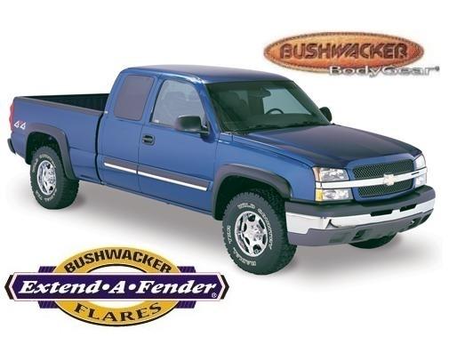 Bushwacker Extend-A-Fender Flare - Set of 4 - OE Matte Black