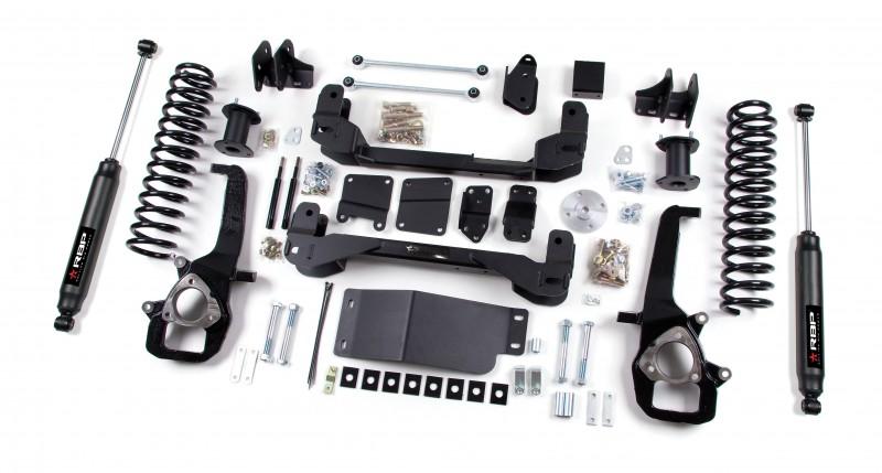 RBP RBP Suspension Lift Kit System: 2009-2011 Dodge 1500 4WD 4\