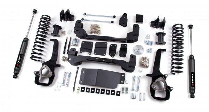 RBP RBP Suspension Lift Kit System: 2009-2011 Dodge 1500 4WD 4\