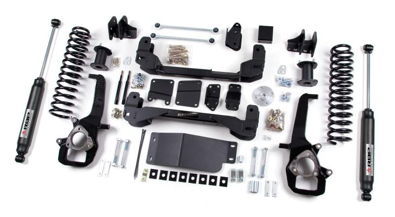 RBP RBP Suspension Lift Kit System: 2012 Dodge 1500 4WD 4\