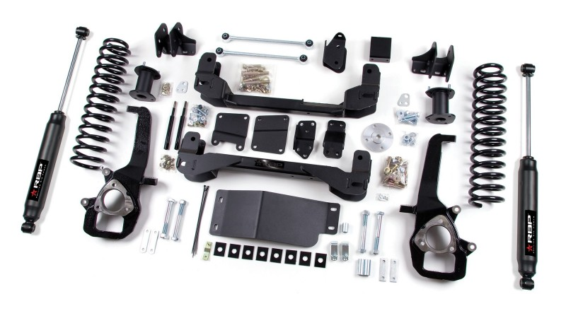 RBP RBP Suspension Lift Kit System: 2012 Dodge 1500 4WD 6\
