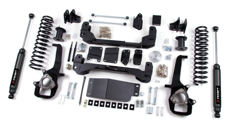 RBP RBP Suspension Lift Kit System: 2013-2018 Dodge 1500 4WD 6\