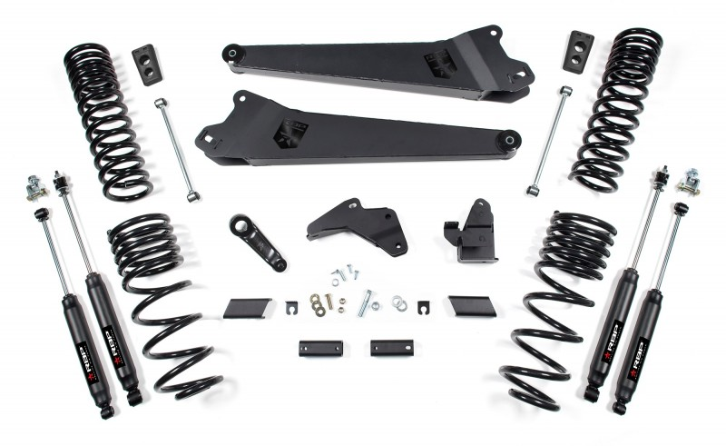 RBP Suspension Lift Kit System: 2014-2018 Dodge 2500 4WD 6.5